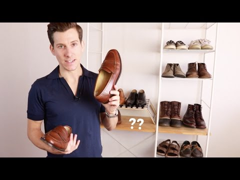 My Shoe Collection for 2016 | Minimalist Men's Shoe Collection