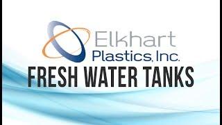 """100 Gallon RV Water Tank 59"""" x 27"""" x 18 1/2"""" Elkhart Plastics EPI 0207W"""