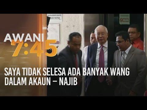 Saya tidak selesa ada banyak wang dalam akaun - Najib