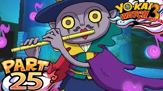 Yo-Kai Watch 3 Sushi and Tempura - Part 25 - The Pied Piper