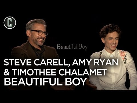 Timothee Chalamet, Steve Carell and Amy Ryan Discuss Beautiful Boy