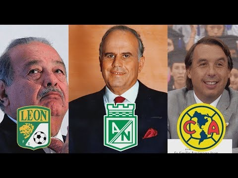 Los 7 magnates más poderosos del fútbol latinoamericano | Mike Beta tops