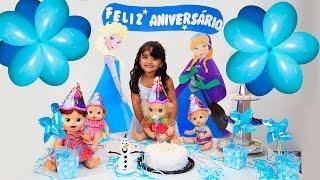 Festa PARTY para Baby Alive Clarabela com BIA LOBO
