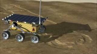 Vortex - Planetary Robotics (NASA Mars Rover) Simulation on Soft Terrain