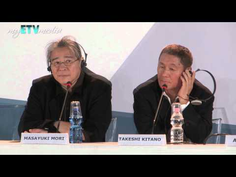 Takeshi Kitano on Outrage: Beyond (69th Venice International Film Festival)