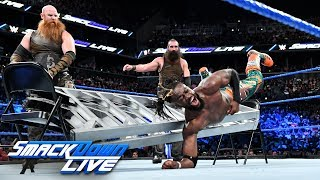 New Day vs. Bludgeon Brothers - SmackDown Tag Team Title No DQ Match: SmackDown LIVE, Aug. 21, 2018