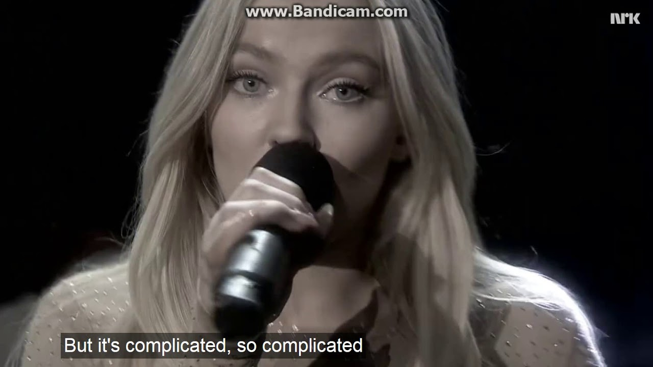 its so complicated song