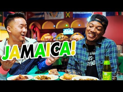 JAMAICAN FOOD w/ CHINESE-JAMAICAN FRIEND // Fung Bros