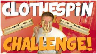 CLOTHESPIN GUN GAME CHALLENGE! (WARNING: PAINFUL)