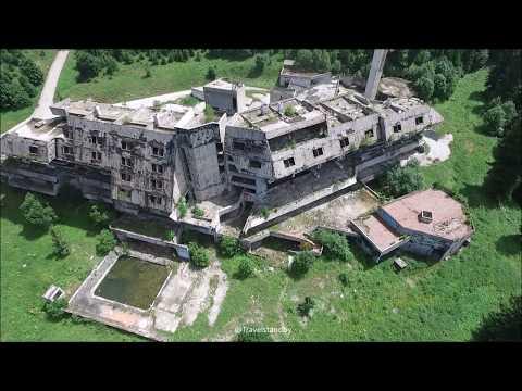 War Abandoned hotel Olympic village Sarajevo