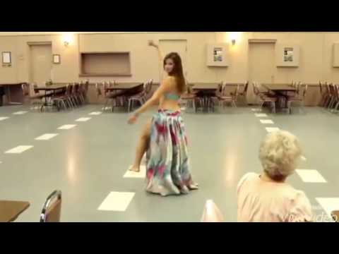 Gorgeous Arabic Belly Dance with Hindi Pop