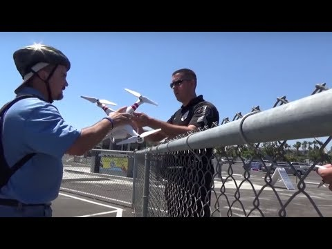 POLICE ORDERED TO RETURN DJI QUAD - WHERE DID IT GO