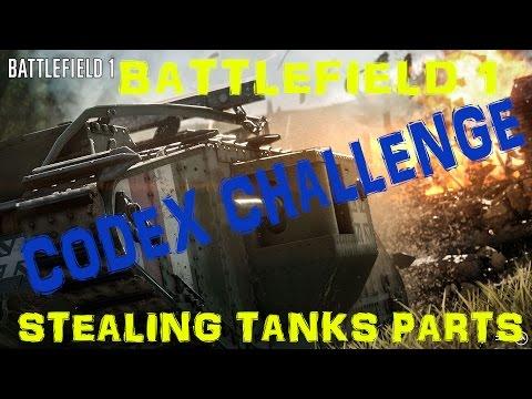 Battlefield 1 Codex Stealing Tanks   Steal Engine Parts Undetected on Breakdown ✔