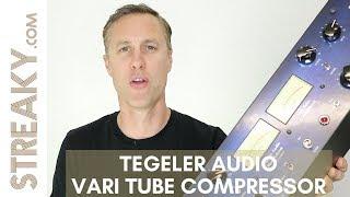 TEGELER AUDIO VARI TUBE COMPRESSOR - Streaky Review