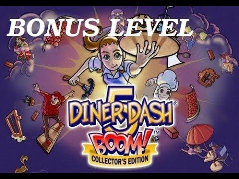 Diner Dash 5: BOOM Gameplay [Part 12] BONUS LEVELS - Thyme Square & Dinertown University