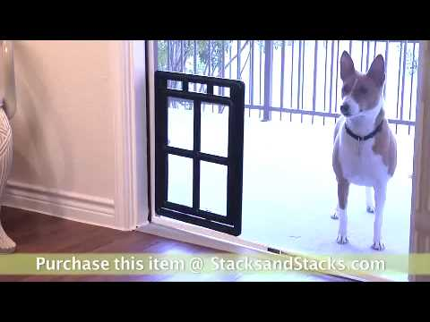 Pet Screen Door Dog Cat Flap At Stacks And Stacks Youtube