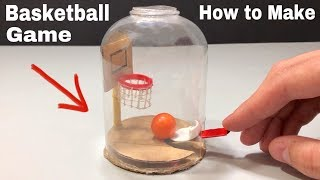 How to Make a Basketball Game in Bottle | DIY Mini Basketball Game | Awesome idea