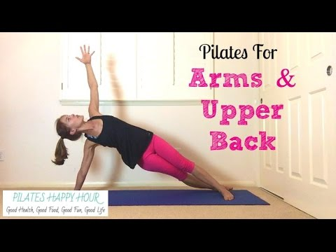 arm workout for women  pilates for arms and upper back