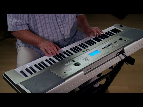 Yamaha YPG235 Portable Keyboard Performance