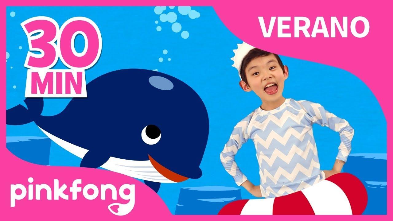 ¡Hola, Verano!   Canciones Infantiles del Verano   +Recopilación   Pinkfong Canciones Infantiles