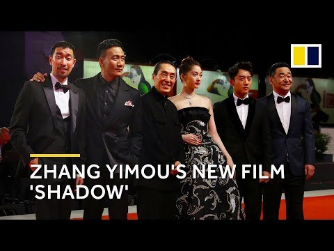Chinese director Zhang Yimou presents new film Shadow in Venice