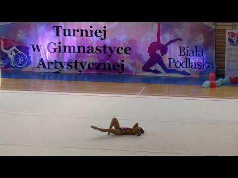 Turniej w gimnastyce artystycznej w Białej Podlaskiej