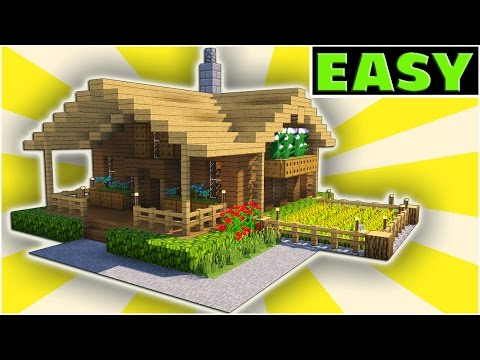 how to build a starter house in minecraft