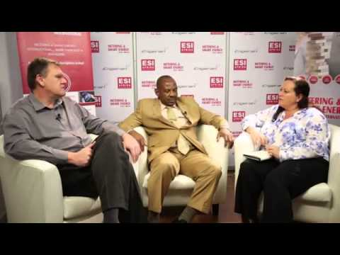 Eko Disco: Dawie Pieterse, chief technical officer & Sam Nwaire, chief commercial officer