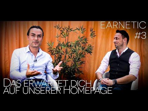 EARNETIC #3 - Das erwartet dich auf unserer Homepage