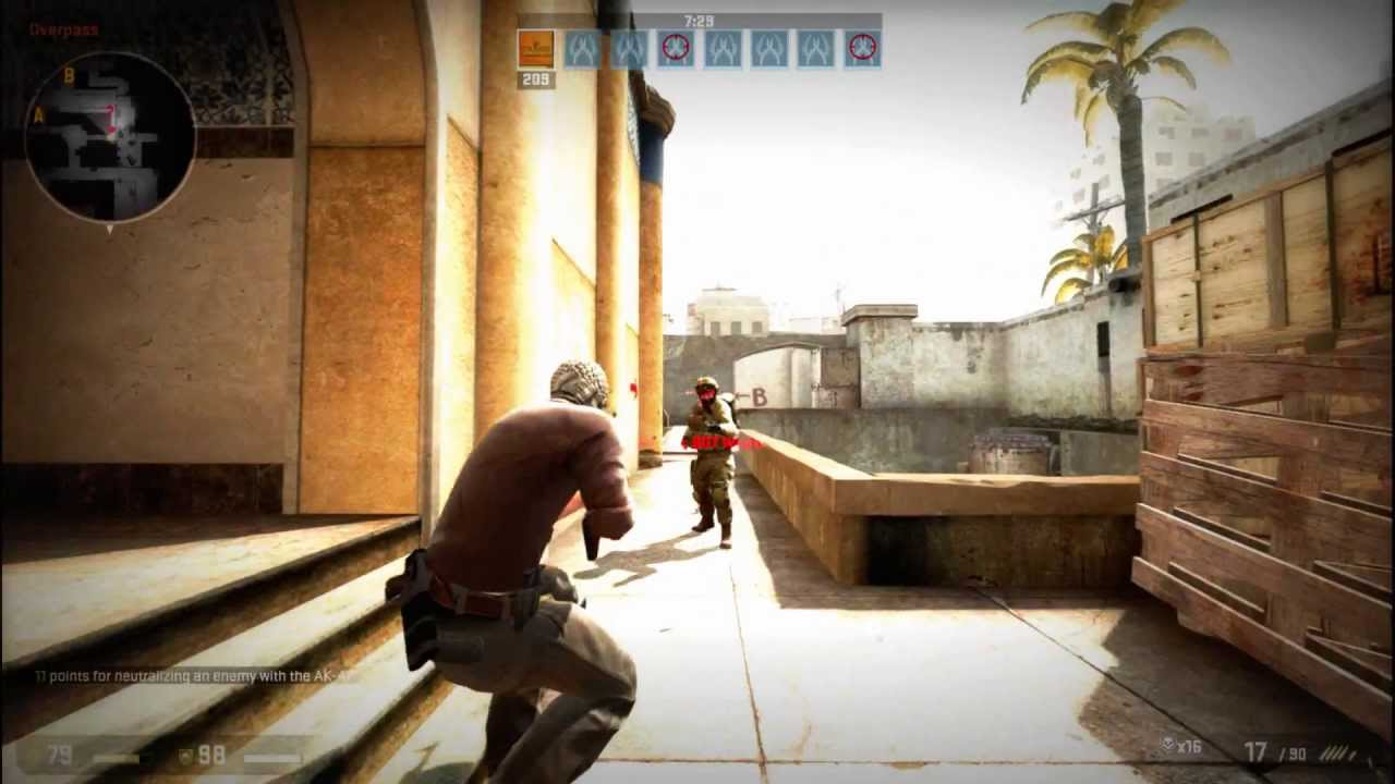 Counter Strike Global Offensive Third person mode