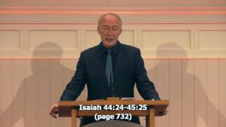 God uses evil - Isaiah 44:24-45:25