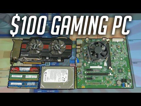 $100 Gaming PC Challenge! (2020)