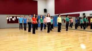 Dancing In The Moonlight - Line Dance (Dance & Teach in English & 中文)