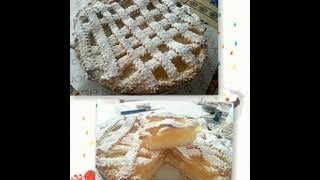 Crostata Di Pasta Frolla Senza Burro  Con  (crema Di Limone All'acqua))