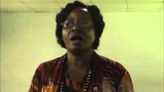 Ekitibwa Kya Buganda: Owek. Nakatte CK Singing Buganda Anthem during KAWA ICT