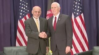 VP Pence In Germany Meets Afghan President Ghani