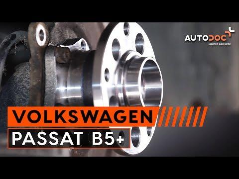 PASSAT B5+ hátsó kerékcsapágycsere [Útmutató] letöltés