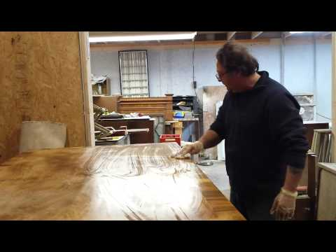 how to bleach furniture  at timeless arts refinishing