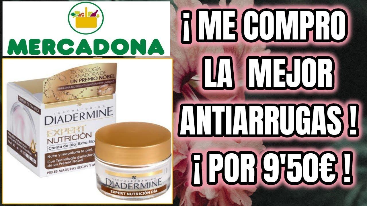 ¡ME COMPRO LA MEJOR CREMA ANTIARRUGAS DE MERCADONA POR 9..
