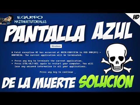 Tutorial - Pantalla Azul de la Muerte (Blue Screen Of Death) SOLUCION