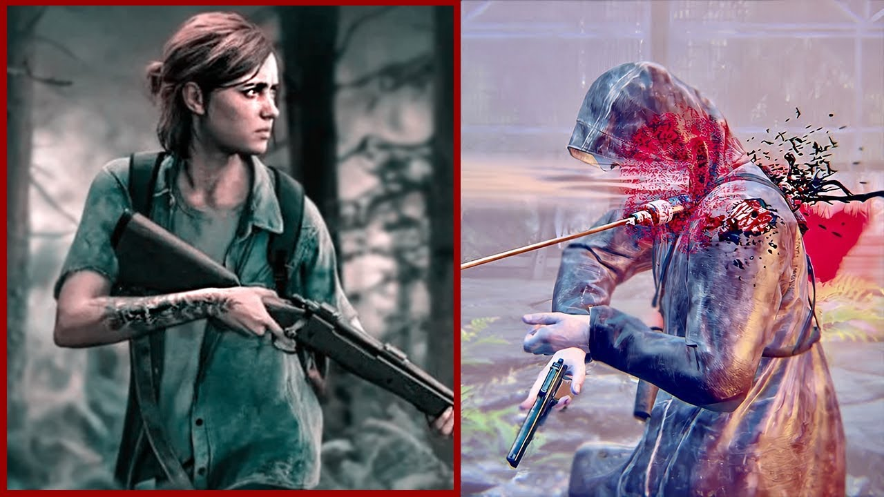 THE LAST OF US 2 - Epic Brutal Combat & Aggressive Stealth Gameplay Vol. 5 [Cinematic Style]