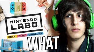 Nintendo nos vende CARTÓN?! [Nintendo Labo]