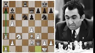 Лучшая партия Петросяна в матче со Спасским 1969 года! Шахматы.