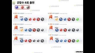 궁합수, 함께 몰려다니는 마피아 같은 번호들, 로또 705회 by 로또랩