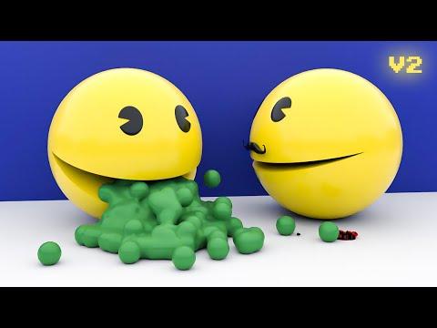 PACMAN VS GHOSTS [Glitch] V2