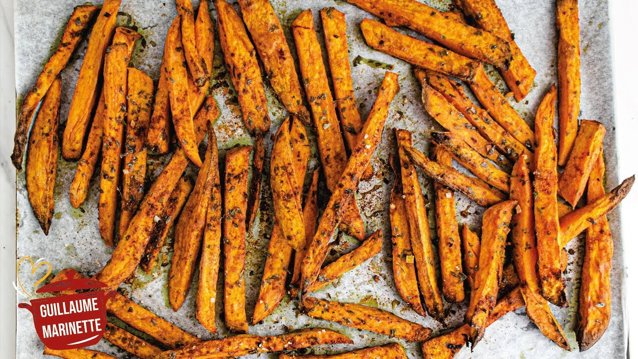 Frites de patate douce HEALTHY, comment faire ? Recette ...