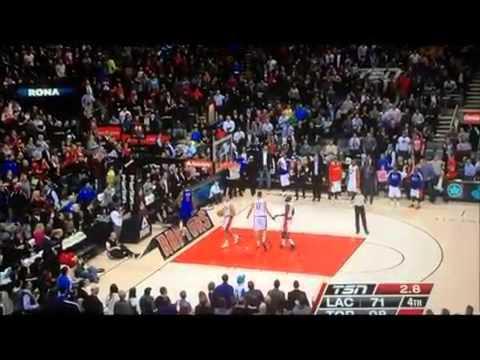Caron Butler Tricks Jonas Valanciunas With Fake Handshake Just To Score A Basket !