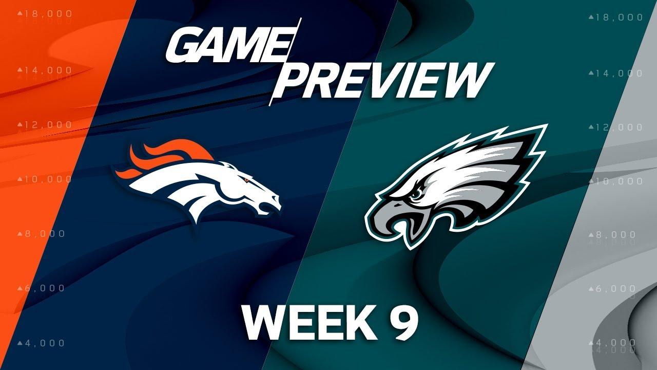 Denver broncos vs philadelphia eagles week 9 game preview nfl denver broncos vs philadelphia eagles week 9 game preview nfl playbook voltagebd Image collections
