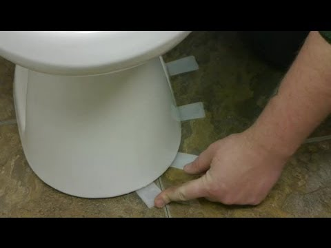 How To Install Toilet Shims How To Fix Toilets Youtube