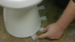 How to Install Toilet Shims : How to Fix Toilets